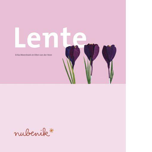 Nubenik* lenteboek cover vanprentenboek voor mensen met dementie over de Lente van Stichting Zaaigoed.nl Stichting Zaaigoed