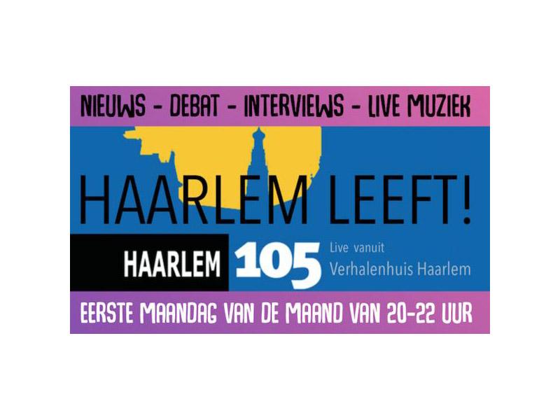 Haarlem Leeft 105 Talkshow Sponsor Stichting ZaaiGoed
