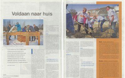 Het straatjournaal heeft een prachtig stuk geschreven over de leerlingen van het NovaCollege Haarlem! Zij hebben de verhoogde tuinbakken gemaakt en geplaatst op de Zintuigentuin. Alles voor de ouderen met dementie!