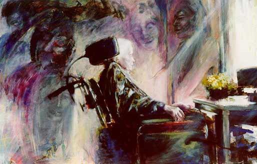 Schilderij Mirjam Vissers