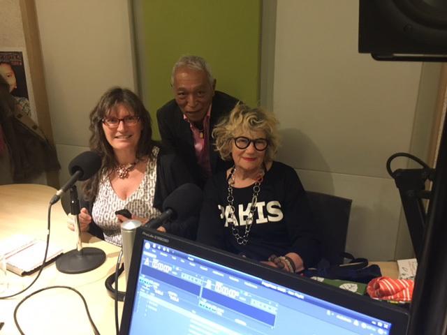 Bij Radio Steunkous in de studio