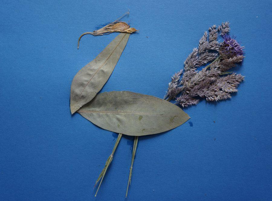 Herbarium schilderij van Tristan