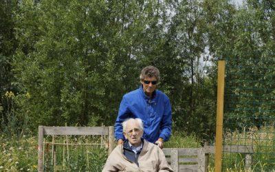 Filmploeg Reinaldahuis bij Zintuigentuin van Stichting Zaaigoed op bezoek!