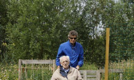 Filmploeg Reinaldahuis bij Zintuigentuin op bezoek!