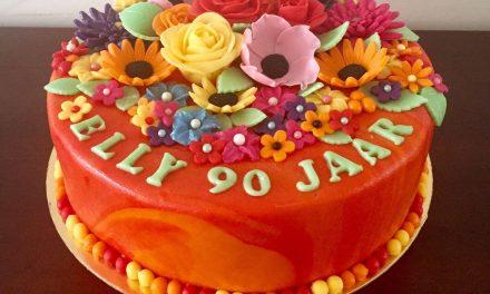 Hoera, Elly 90 jaar!