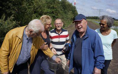 Bramenjam maken met de bewoners van Europastroom