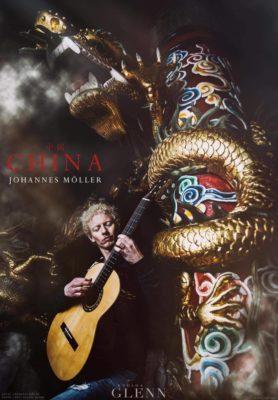Tijdens de theeceremonie speelt gitarist Johannes Molller live stukken van zijn nieuwste cd 'China'