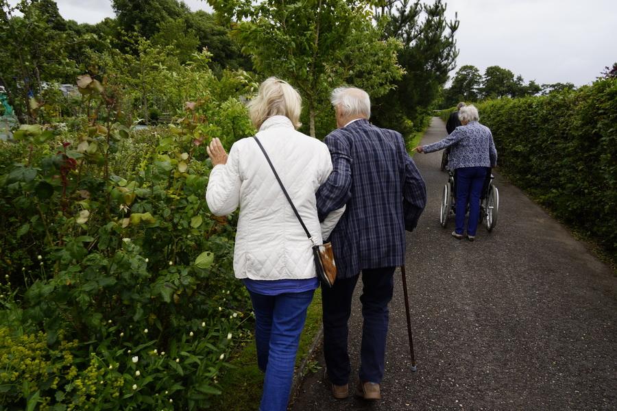 Groenproject Zorgvilla Westervenne, ouderen bloeien op