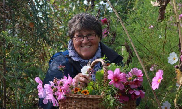 Sjoeke initieert workshop in het tuinhuis!