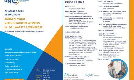 ZaaiGoed inspireert tijdens symposium van Universitair Netwerk voor de Care sector ZH!