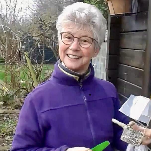 Gerda, vrijwilliger bij Stichting ZaaiGoed